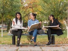 Usbekistan - Tashkent Studenten