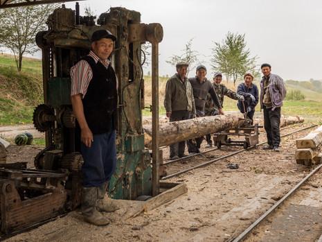 Kirgistan - Sägewerk