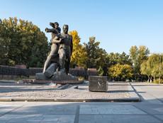 Usbekistan - Tashkent Erdbebendenkmal