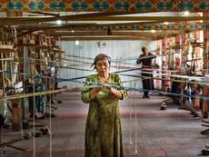 Usbekistan - Seidenfabrik Margilan