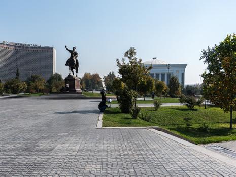 Usbekistan - Tashkent Amir Temur Platz