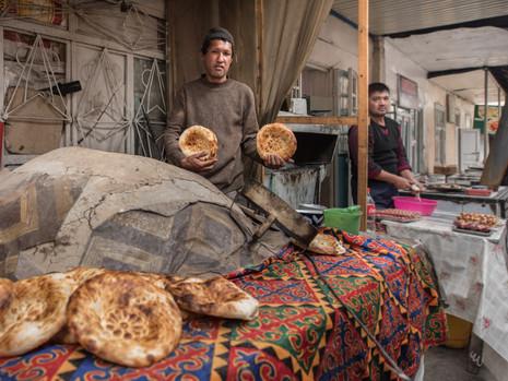 Kirgistan - Bäcker Uzgen