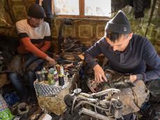 Kirgistan - Arslanbob Schuster
