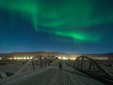 Nordlicht in Kangerlussuaq