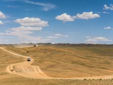 auf dem Weg in die Gobi