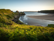 Cliffs bay