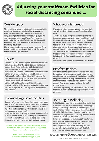 Wellbeing resource for Heads and Leaders