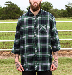 3/4 Flannel
