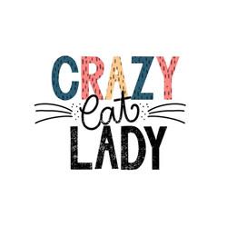 crazy cat lady temporäres Tattoo