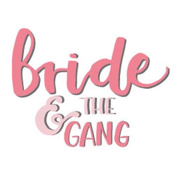 """Temporäres Tattoo """"Bride & the Gang"""""""