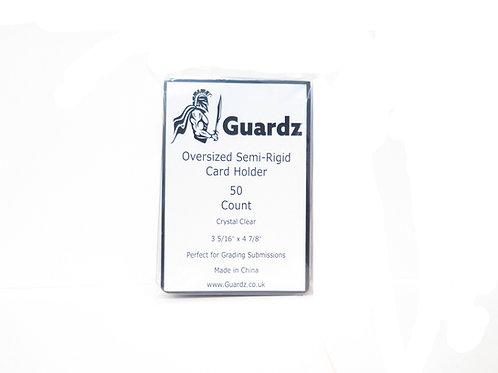 Guardz - Semi-Rigid Card Holders - 4 x (50) Packs