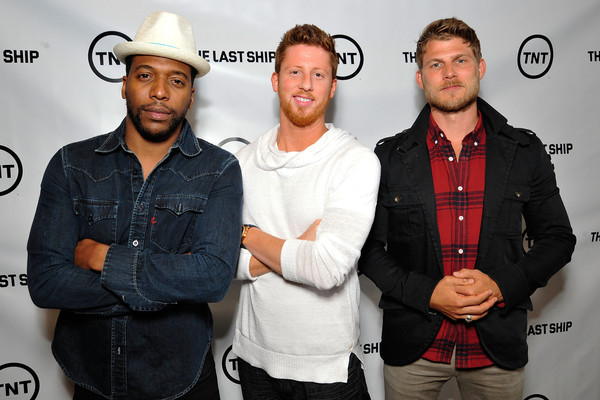 Kevin Michael Martin and his The Last Ship crew