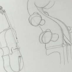 Cello Studien