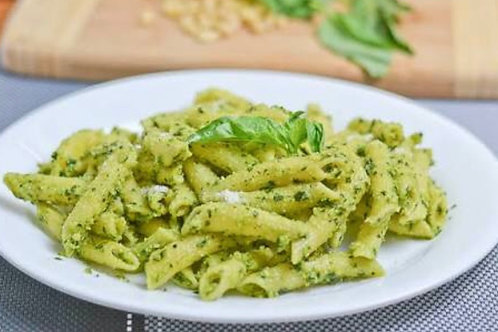 Basil Pesto with Vegan Parmesan