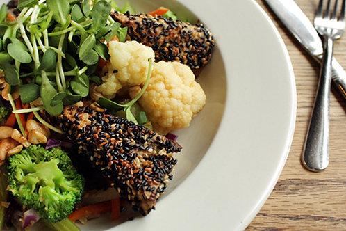 Japanese Black Sesame Tofu