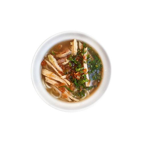 Vietnamese Rice Noodle Soup