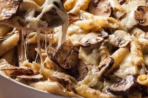 Creamy Mushroom Pasta Bake