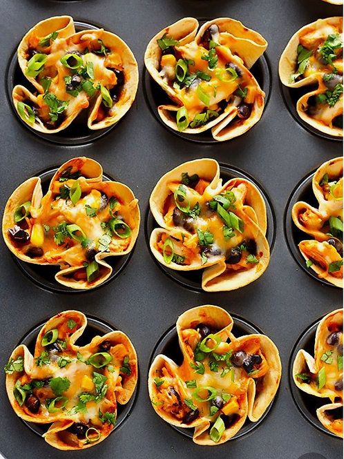 Mexican Tortilla Cups