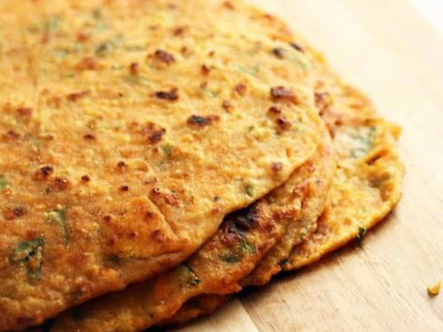 Roti with Indian Spiced Potatoes