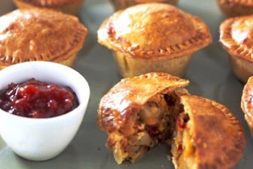 Vegetable and White Bean Pies
