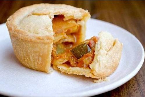 Curried Vegetable Pie