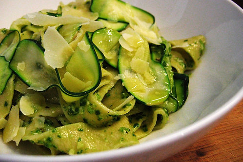 Alexia's Zucchini Mushroom Pappadelle