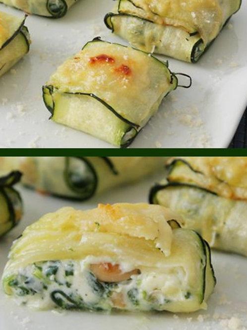 Zucchini/Vegan Ricotta Ravioli