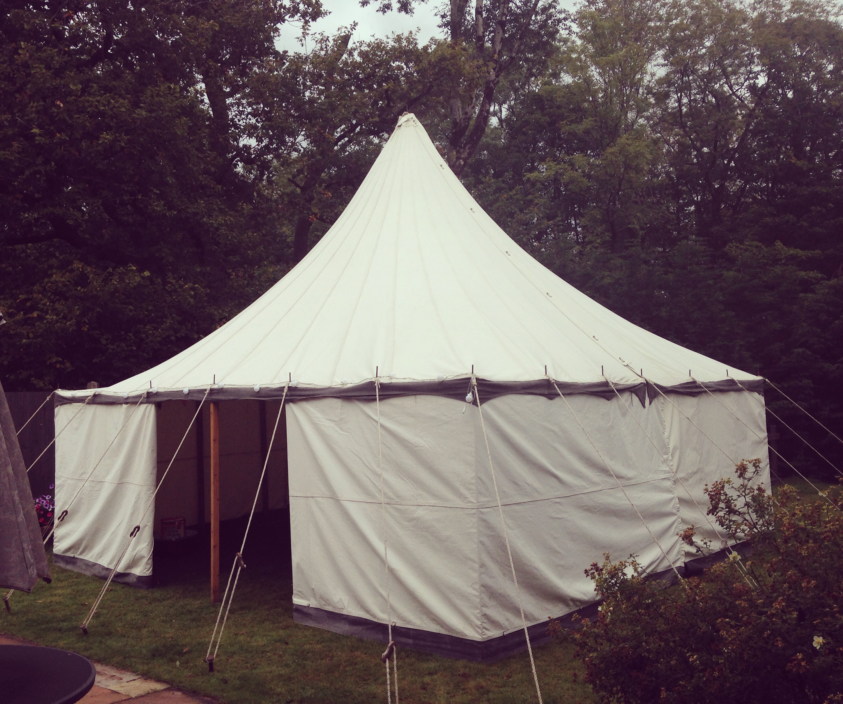 Small Vintage Tent