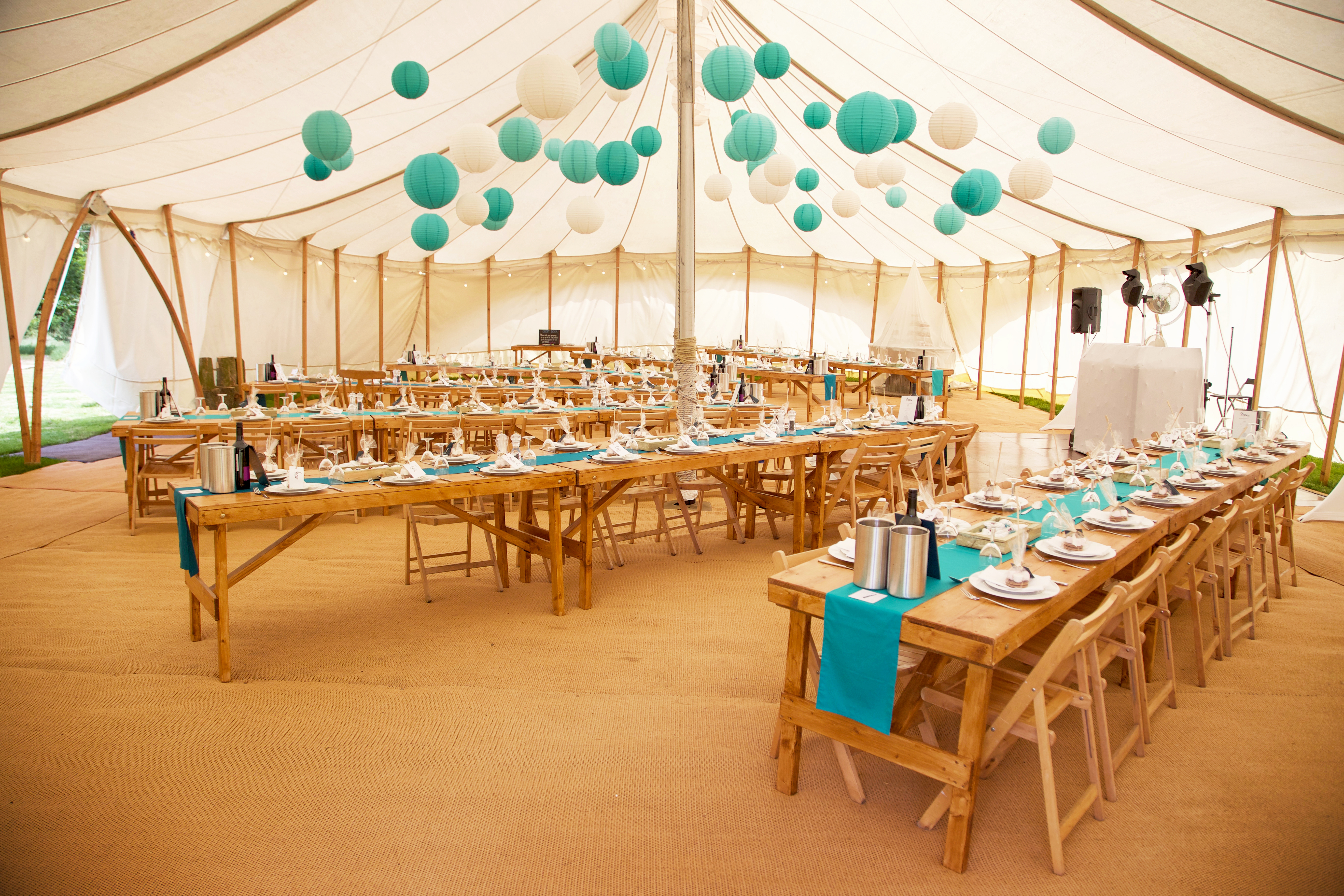 Amy & Hamish Star Marquee