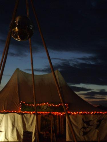 Medium Vintage Tent