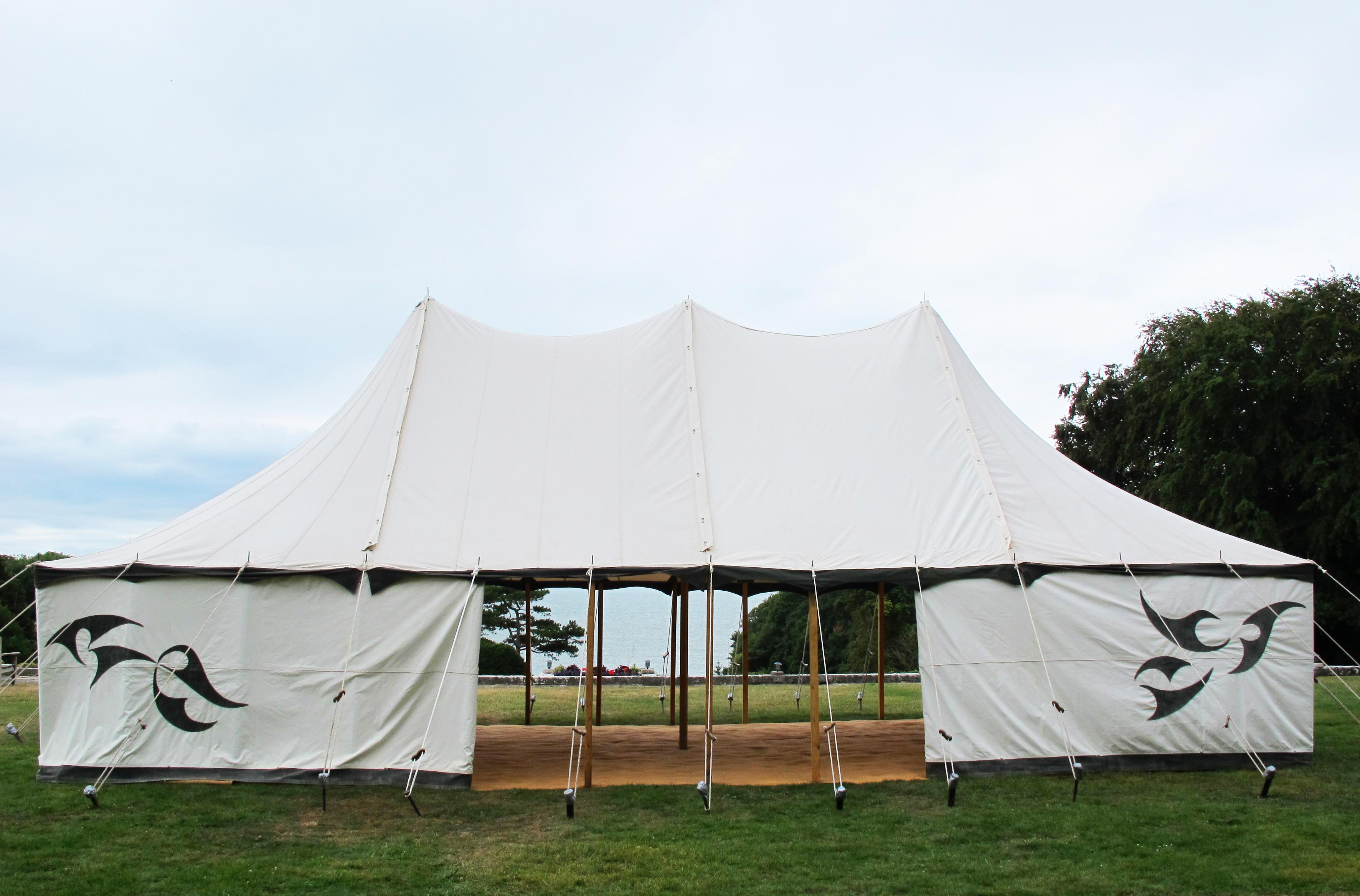 Large Vintage Tent