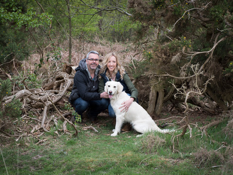 Amy and Jon pre-wedding shoot on Dunwich Heath