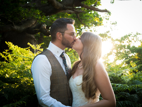 Courtney and Duncan's Woodland Wedding at Wantisden Valley