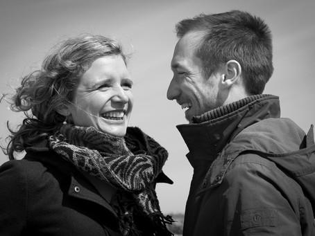 Jess and Stuart in Walberswick