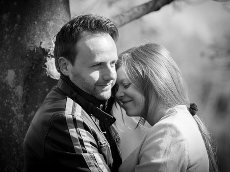 Steph and Stephen's Pre-Wedding Shoot, Barham Lakes