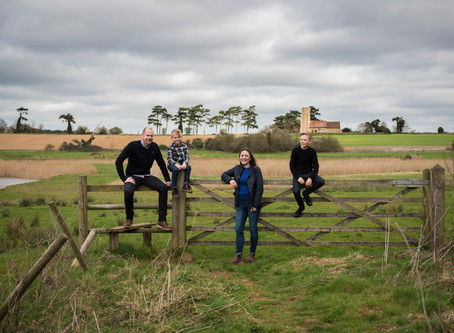 A windy day at Ramsholt.....