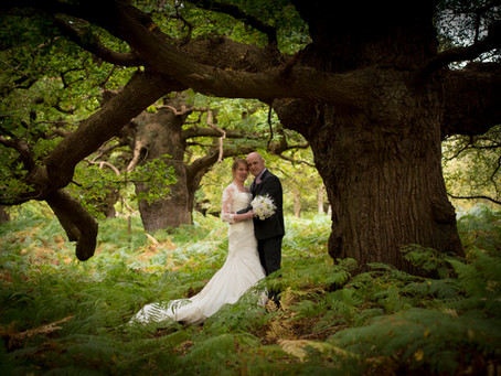 Mandy and Steve's Autumn Wedding, Wantisden Valley