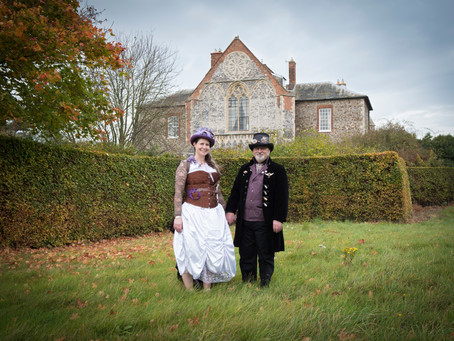 Beautiful Butley Priory goes all Steampunk!