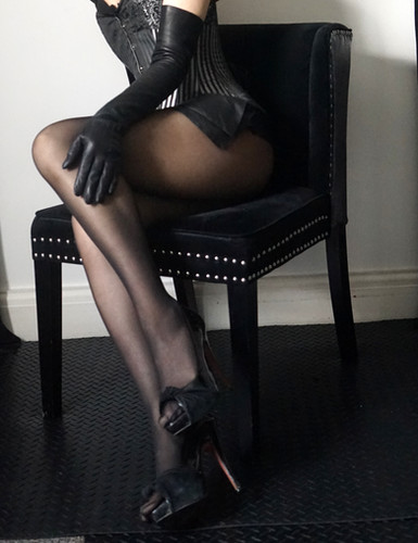 At Her heel