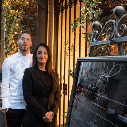 Chef Federico Beretta ed Elisa