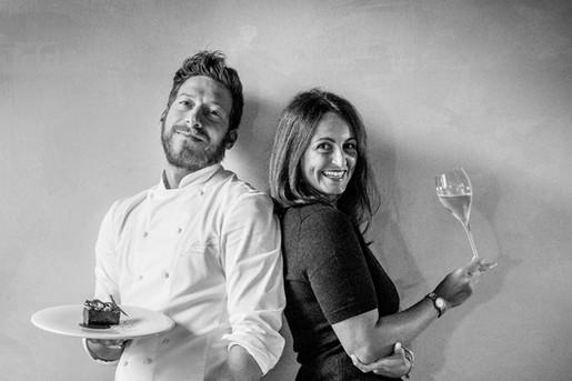 chef Federico Beretta & sommelier Elisa Forlanelli