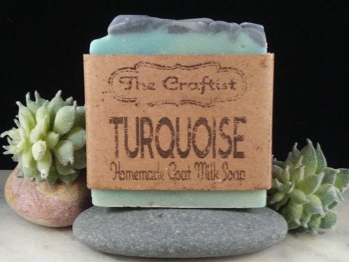 Turquoise Handmade Goat Milk Soap