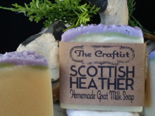 Scottish Heather Goat Milk Soap
