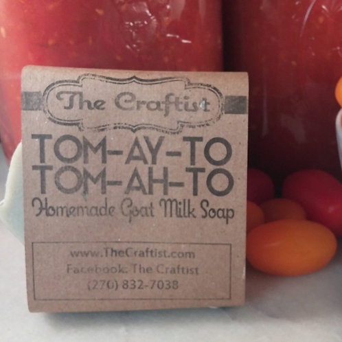 Tom-Ay-To Tom-Ah-To Goat Milk Soap