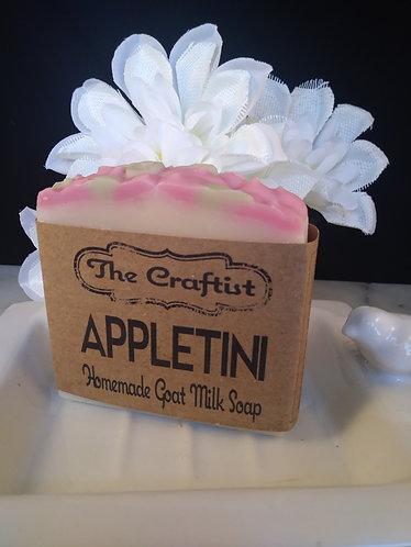 Appletini Handmade Goat Milk Soap