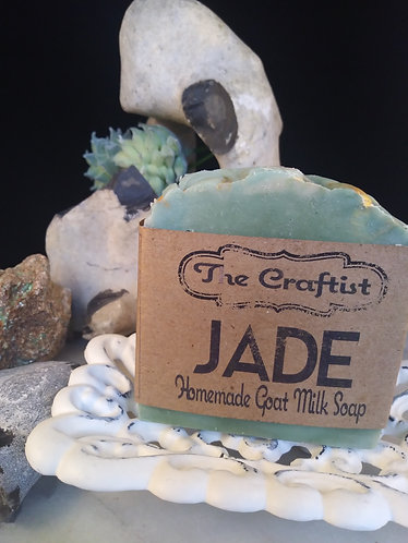 Jade Handmade Goat Milk Soap