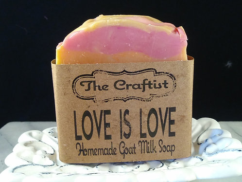 Love is Love Handmade Goat Milk Soap