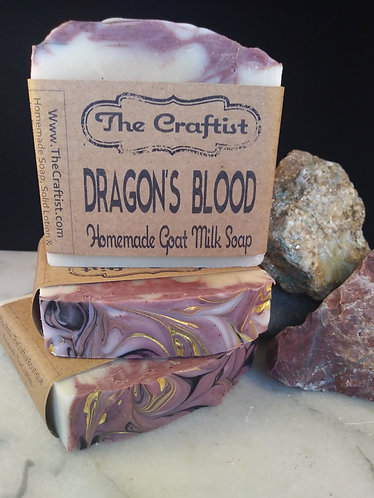 Dragon's Blood Handmade Goat Milk Soap