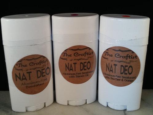 Nat Deo Natural Deodorant