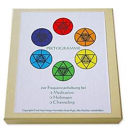 Lichtkreis Piktogramme